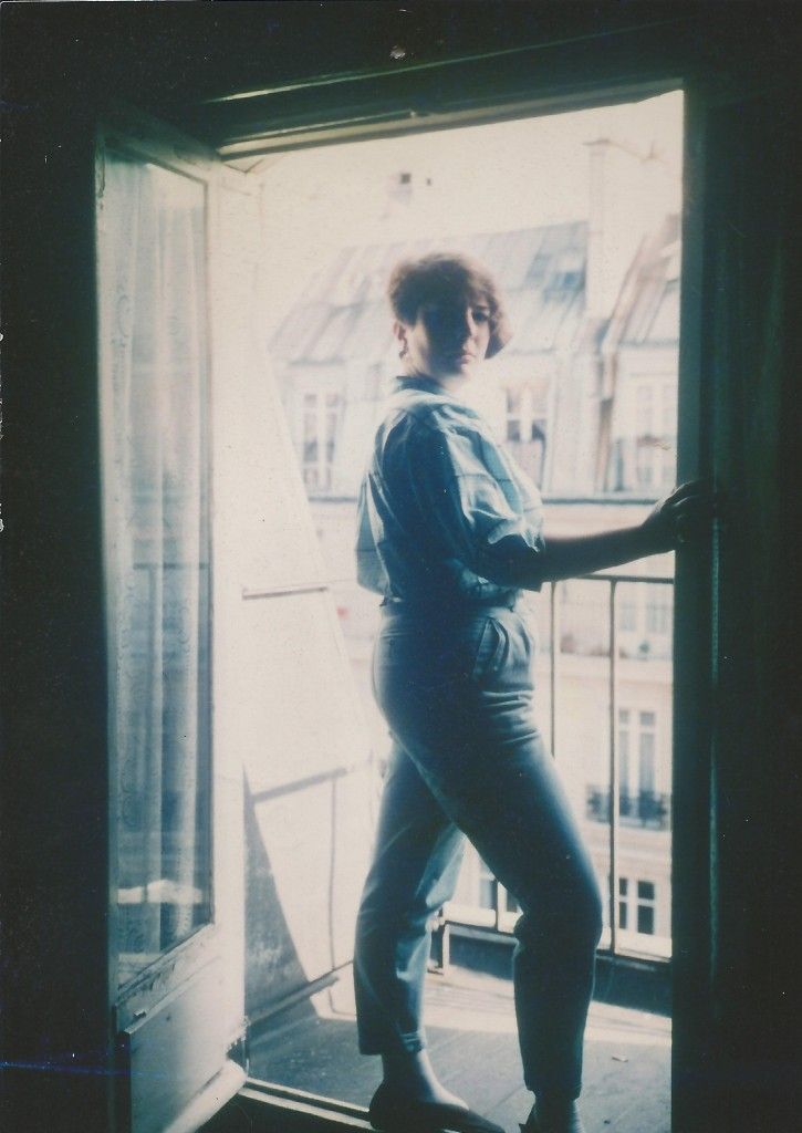 Me. Paris. Long, long ago. 1985 to be exact.